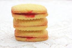 Shortbread biscuites Stock Images