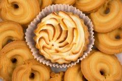 Shortbread biscuits Stock Image