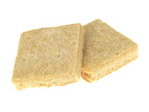Shortbread-Biskuite Lizenzfreie Stockfotos