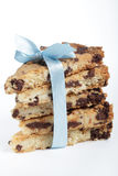 Shortbread with chocolate chips Royalty Free Stock Image