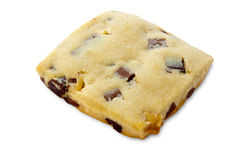 Shortbread With Chocolate Chips and Fudge Royalty Free Stock Image