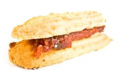 Shortbread con la cottura Fotografia Stock