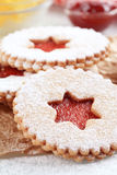 Shortbread cookies Stock Photography
