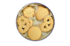 Shortbread cookies Royalty Free Stock Photography