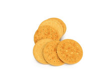 Shortbread cookies batch Royalty Free Stock Photo