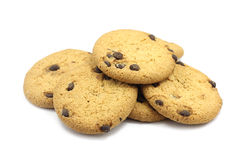 Shortbread cookies with chocolate chips Stock Photography