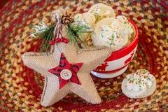 Shortbread Cookies Royalty Free Stock Photos