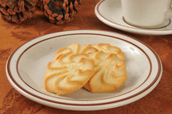 Shortbread cookies Stock Images