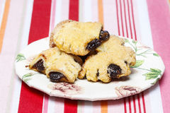 Shortbread cookies filled with jam Royalty Free Stock Photography