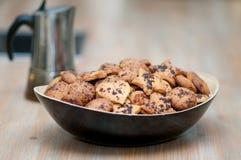 Shortbread cookies handmade royalty free stock photography
