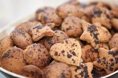 Shortbread cookies handmade stock image