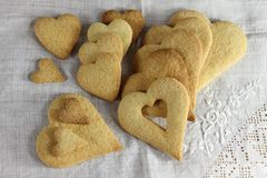 Shortbread cookies Stock Photos