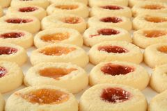 Shortbread cookies Royalty Free Stock Images