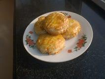 Shortbread (Crispy torty) zdjęcie stock