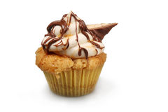 Shortbread Cupcake Royalty Free Stock Image