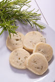 Shortbread de Rosemary Foto de Stock