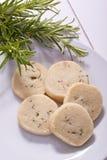 Shortbread della Rosemary Fotografia Stock