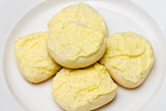 Shortbread do limão Fotos de Stock Royalty Free
