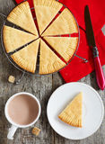 Shortbread escocês Foto de Stock Royalty Free