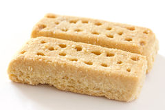 Shortbread finger biscuits Stock Images