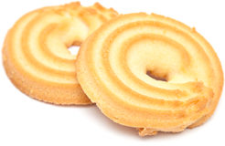 Shortbread ring biscuit Royalty Free Stock Photos
