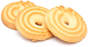 Shortbread ring biscuit Stock Photo