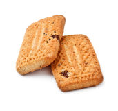 Shortbreads Cookies With Raisins Royalty Free Stock Photo