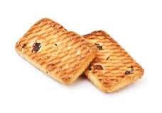 Shortbreads Cookies With Raisins Royalty Free Stock Photography