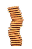 Shortbreads Cookies Tower Royalty Free Stock Photo