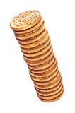 Shortbreads Cookies Tower Stock Photo
