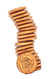 Shortbreads Cookies Tower Stock Images