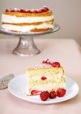 shortcake φράουλα Στοκ φωτογραφία με δικαίωμα ελεύθερης χρήσης