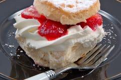 shortcake φράουλα Στοκ Εικόνες