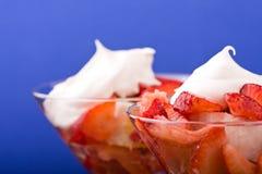 shortcake φράουλα Στοκ Φωτογραφία