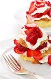 Shortcake клубники Стоковая Фотография