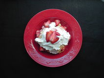Shortcake. Strawberry shortcake Royalty Free Stock Images