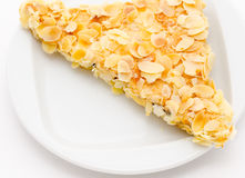 Shortcake in almond Stock Photography
