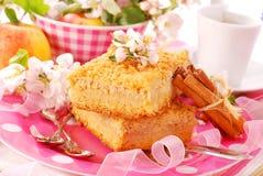 shortcake crumble яблока стоковые изображения rf