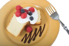 Shortcake da fruta imagem de stock royalty free
