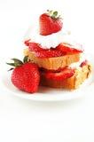 Shortcake de fraise Photo libre de droits