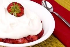 Shortcake de la fresa Foto de archivo