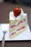 Shortcake de la fresa Fotos de archivo libres de regalías
