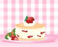 Shortcake della fragola Illustrazione Vettoriale