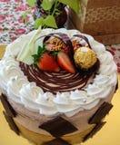 Shortcake do fruto Fotos de Stock