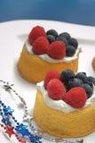 shortcakes καλοκαίρι Στοκ Εικόνες