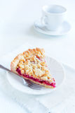 Shortcrust fruit pie Royalty Free Stock Photo