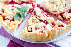 Shortcrust fruit pie Royalty Free Stock Images