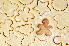 Shortcrust pastry, close up royalty free stock image