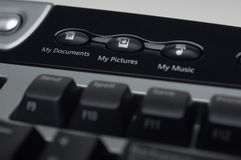 Shortcut Keys On Keyboard Stock Photography