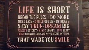 Shortlife. Lifestyle  shortlife  doit Stock Image